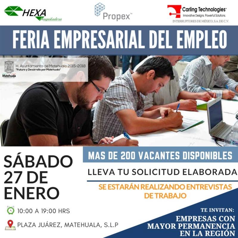 invitan a feria empresarial del empleo (1)