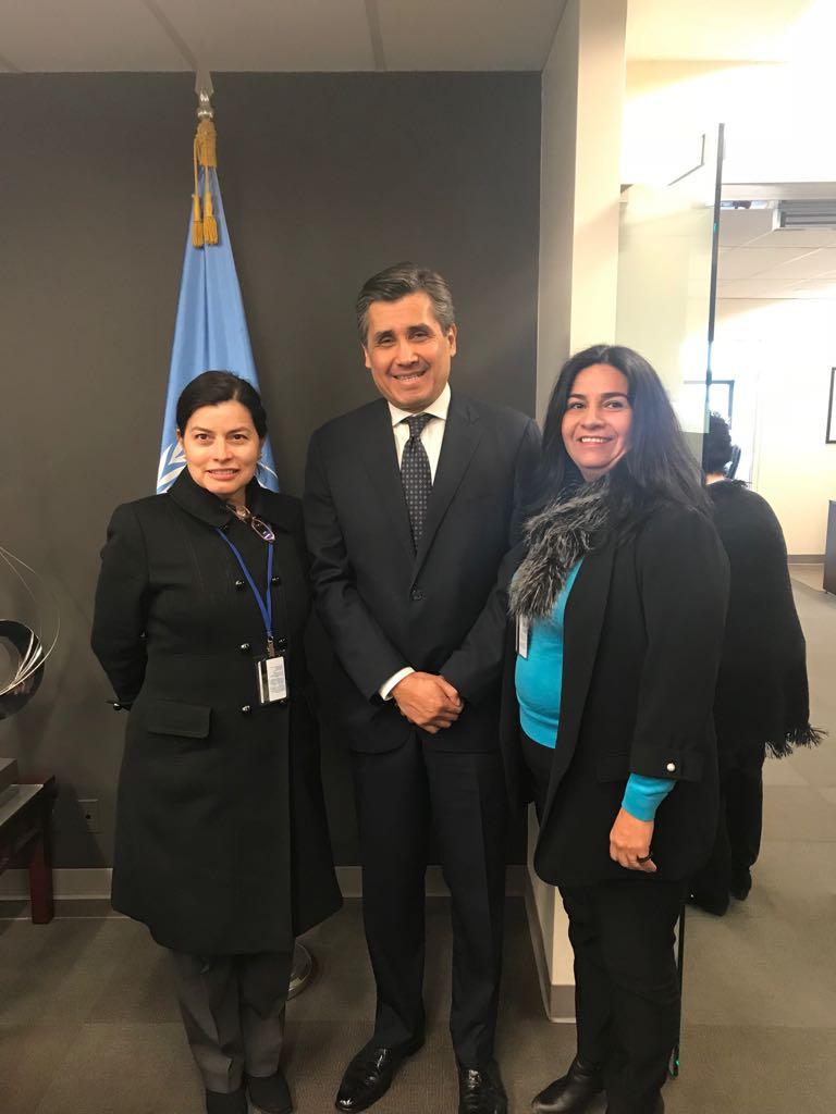Embajador de México en la ONU.