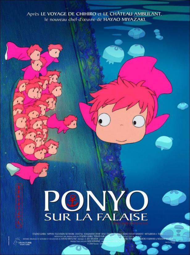 Ponyo cartel 2 - ciclo Hayao Miyazaki Cineteca Alameda SLP.jpg