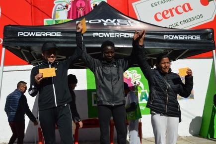 Carrera Atlética FEREMA 2020 - Ganadoras rama Femenil