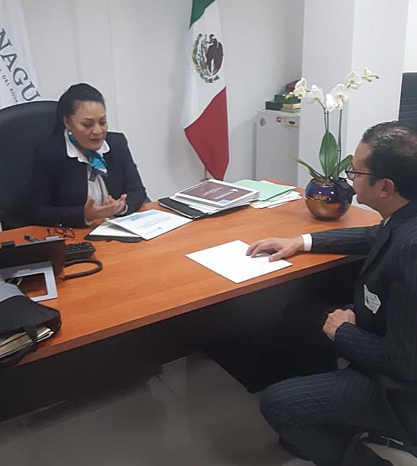 REUNION CONsubdirectora general de CONAGUA  Patricia Ramírez Pineda Subdirectora General de Agua Potable, Drenaje y Saneamiento 2.jpg