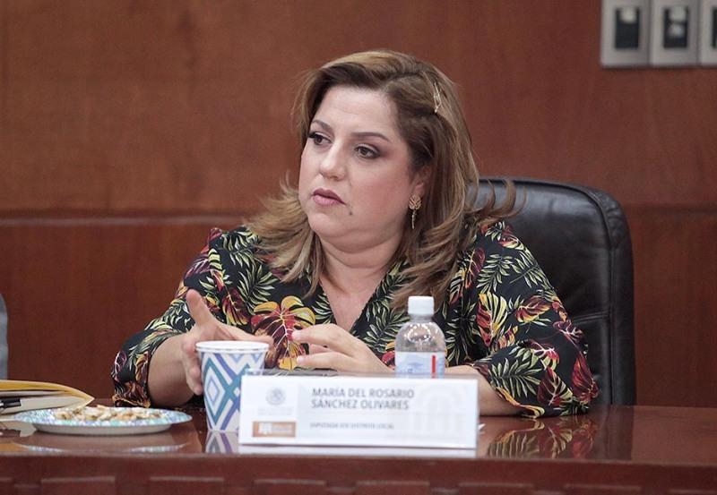 Dip. María del Rosario Sánchez Olivares.