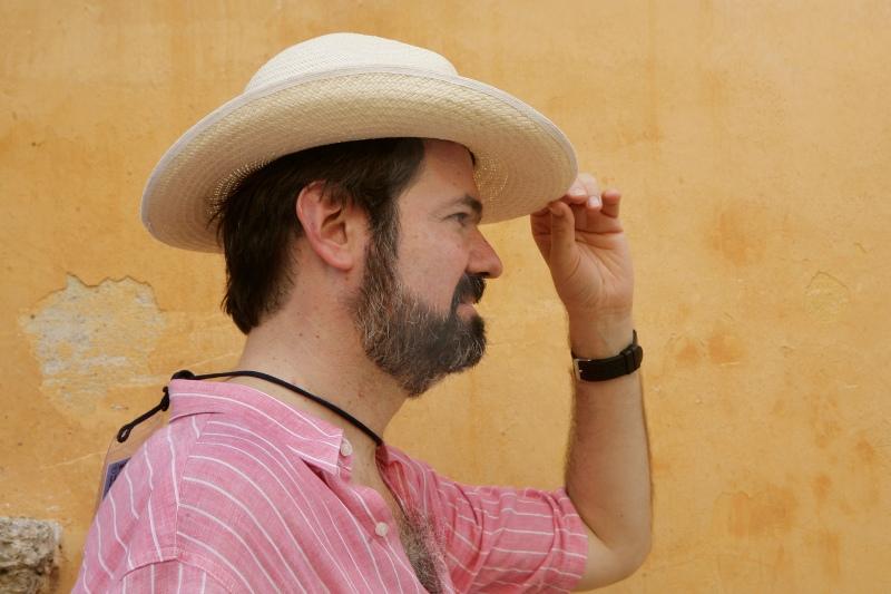 Juan Villoro por Daniel Mordzinski